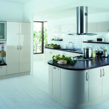 North Devon Kitchens | North Devon Kitchen Companies Gower Beige_Main 1