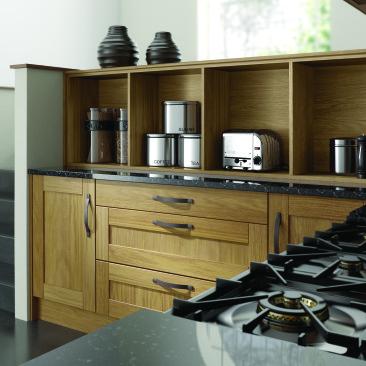 North Devon Kitchens | Kitchen Designers Barnstaple Wickham Oak_Drawer Pack
