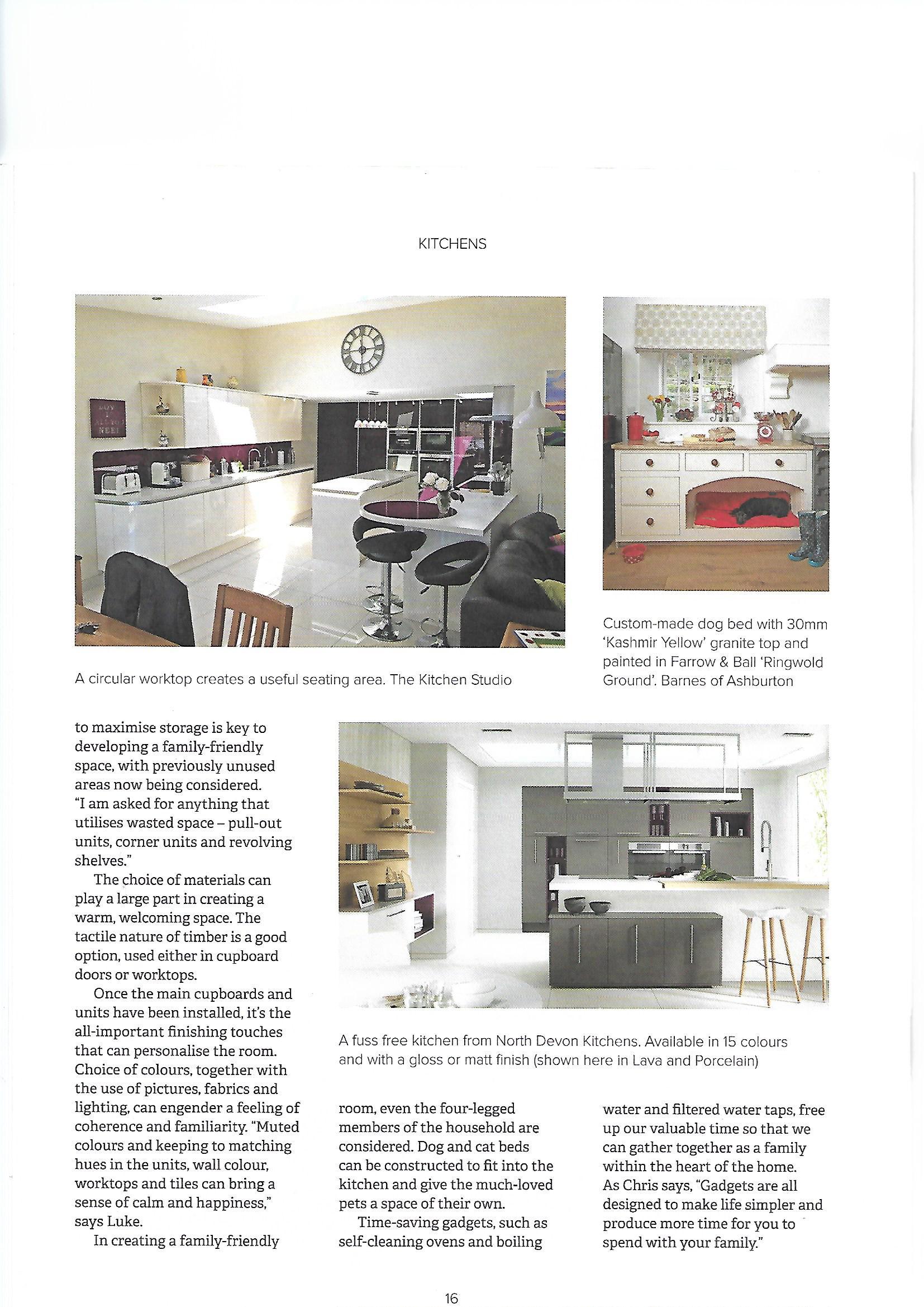 Kitchen Designers Devon